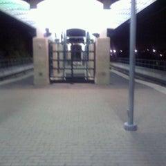 Photo taken at Forest Lane Station (DART Rail) by Steven G. on 11/30/2011