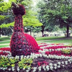 Photo taken at Bronson Park by Joe S. on 7/27/2012