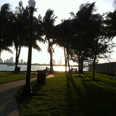 Photo taken at Dog Park for The Waverly & The Flamingo by Kreme B. on 4/1/2012