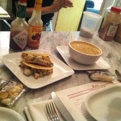 Photo taken at Ed's Lobster Bar Annex by Martine C. on 9/9/2012