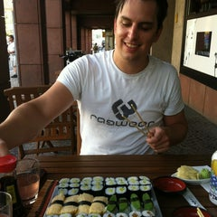 Photo taken at Sushi BA by Yohainne H. on 7/30/2012