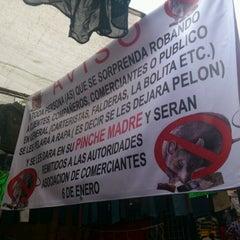 Photo taken at Tianguis San Felipe de Jesús by Rotsen E. on 8/12/2012