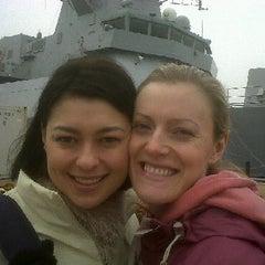 Photo taken at HM Naval Base by Tina B. on 3/29/2011