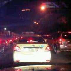 Photo taken at Jalan Jenderal Gatot Subroto by ι∂σмαяωαη on 7/9/2012