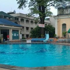 Photo taken at 33 Pham Ngu Lao Swimming Pool by Lam B. on 7/29/2012