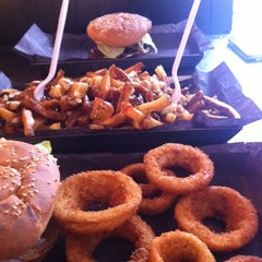 Photo taken at Big Smoke Burger by J.P. on 6/4/2011