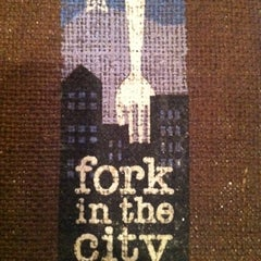 Photo taken at Fork in the City by Tina D. on 3/25/2011