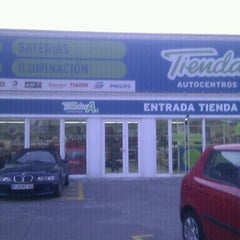 Photo taken at Tiendas A. San Sebastián de los Reyes by Amergin on 1/30/2012