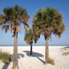 Photo taken at Clearwater Beach by Heather O. on 3/29/2012