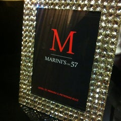 Photo taken at Marini's on 57 by Ju An T. on 8/10/2012