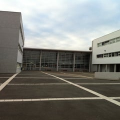 Photo taken at Lycée Jehan de Chelles by Feufeuil N. on 10/12/2011