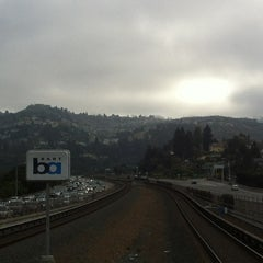 Photo taken at Rockridge BART Station by Gary P. on 9/6/2012