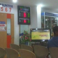 Photo taken at Bank Rakyat Caw. K.Terengganu by Fara m. on 1/5/2012