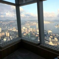 Photo taken at The Ritz-Carlton, Hong Kong by Allison D. on 9/2/2012