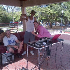 Photo taken at Columbus Park by Eriq C. on 4/22/2012