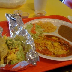 Photo taken at Tio Dan's Puffy Tacos by Brian H. on 10/6/2011