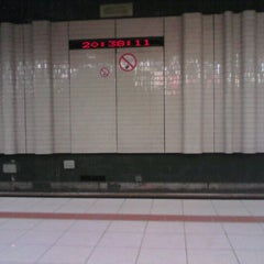 Photo taken at Premetrostation Astrid by Debby C. on 10/25/2011