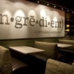 Photo taken at ingredient restaurant by Diana L. on 8/19/2011