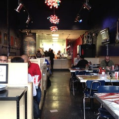 Photo taken at BGR - The Burger Joint by Stacie F. on 2/5/2012