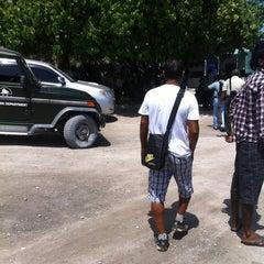 Photo taken at Thilafushi ferry terminal- Thilafushi by Mustho Ⓜ. on 9/26/2011