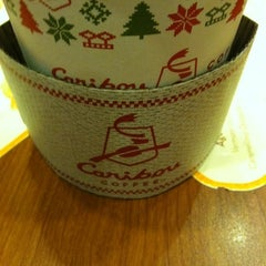 Photo taken at Caribou Coffee by Nicole E. on 12/23/2011