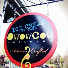 Photo taken at Owowcow Creamery by Mike M. on 4/13/2012