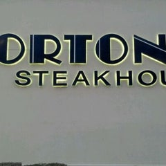 Photo taken at Morton's The Steakhouse by Demont D. on 2/11/2012