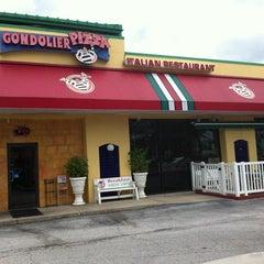 Photo taken at Gondolier Pizza by Irene V. on 9/4/2011