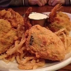 Photo taken at Saltgrass Steak House by Ralynn B. on 2/17/2012
