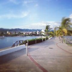 Photo taken at Marina Riviera Nayarit by Aaron F. on 8/31/2012