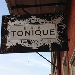 Photo taken at Bar Tonique by John L. on 6/21/2012