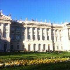 Photo taken at Giardini di Villa Reale by Giulio N. on 4/8/2012