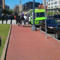 Photo taken at mass ave foodtrucks by Miles M. on 3/27/2012