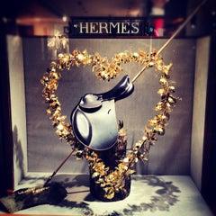 Photo taken at Hermès by Elsie L. on 5/25/2012