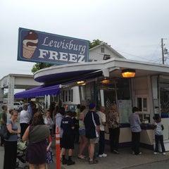 Photo taken at The Lewisburg Freez by Joshua on 5/13/2012