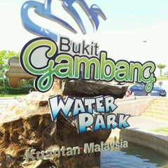 Photo taken at Bukit Gambang Water Park by Cikgu D. on 5/26/2012