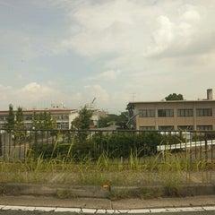 Photo taken at 建設技術50周年記念碑 by GATTACA on 9/3/2012