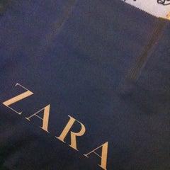 Photo taken at Zara by Marina K. on 3/30/2012