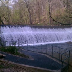 Photo taken at Patapsco State Park - River Road by Anjali T. on 4/1/2012
