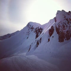 Photo taken at Blackcomb Glacier by Marc A. on 2/23/2012