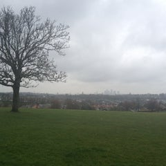 Photo taken at Blythe Hill Fields by Miles B. on 5/5/2012