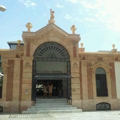 Photo taken at Mercado Central de Almería by Angel H. on 9/7/2012