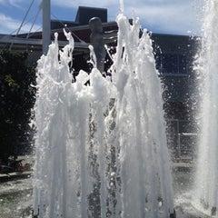 Photo taken at Father & Son Fountain by Jon K. on 8/5/2012