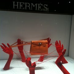 Photo taken at Hermès by Ultimate Paris on 3/18/2011