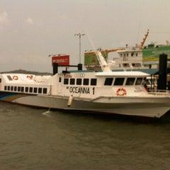 Photo taken at Sri Bintan Pura Ferry Terminal by Oloan M. on 9/4/2012