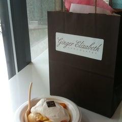 Photo taken at Ginger Elizabeth Chocolates by Jane M. on 6/11/2011