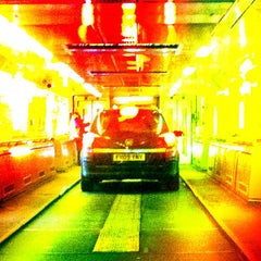Photo taken at Eurotunnel Victor Hugo Terminal by Russell W. on 1/30/2012