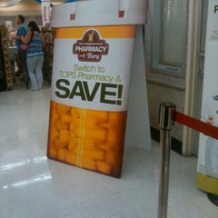 Photo taken at Tops Pharmacy by Diana L J. on 7/30/2012