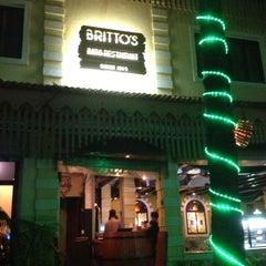Photo taken at Brittos Bar & Restaurant by Jonah S. on 5/19/2012