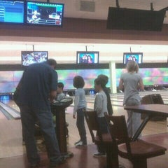 Photo taken at Celebrity Lanes Bowling by Lexie T. on 12/31/2011
